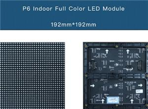 P6 Pantalla LED de interior