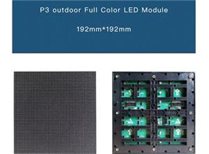 P3 outdoor led display screen