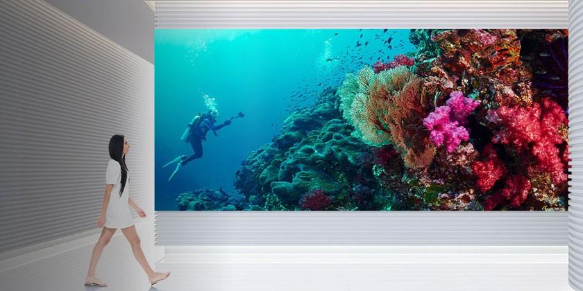 indoor digital advertising screens