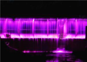 Fântână digitală cu ecran de apă digitală