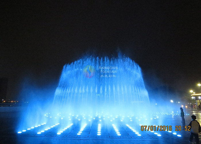 Outdoor Led Mist Water Fountain
