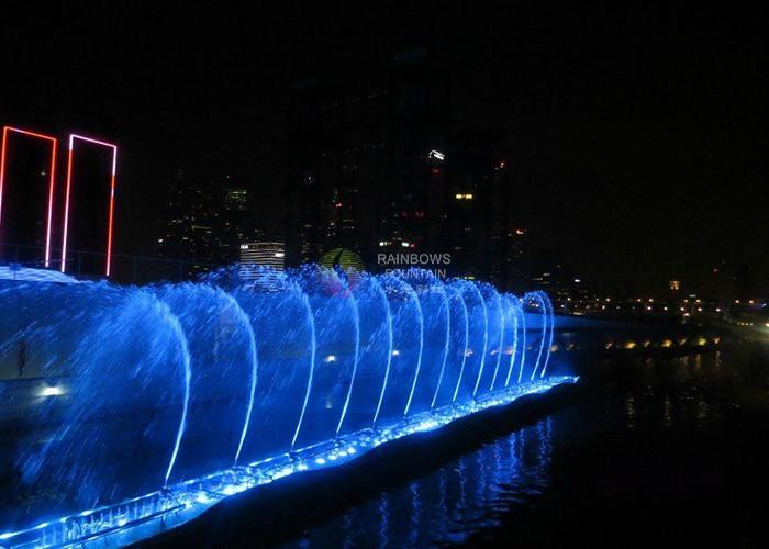 Moderne de lumină și muzică Pool apă Fountain