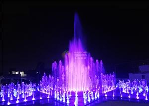 Dmx 512 Dancing Dry Water Fountain for Mall