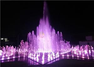 Vertical Water Feature Foam Floor Fountain