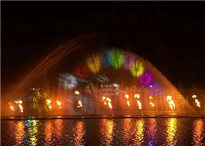 3d Water Screen Hologram Projection