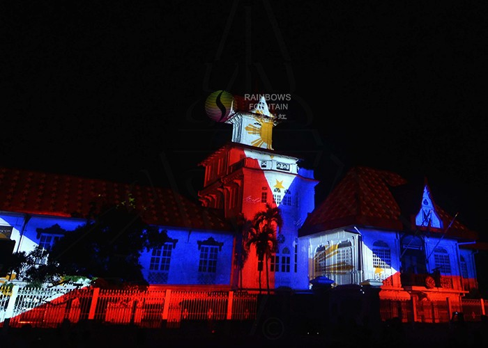 Laser Projection Mapping Show