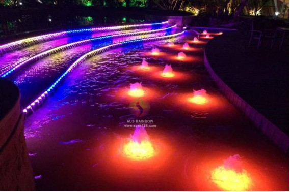 High quality hotsale Laminar jumping jet fountain dry fountain and colored foam water fountain waterfall for MALAYSIA COUNTRY GARDEN