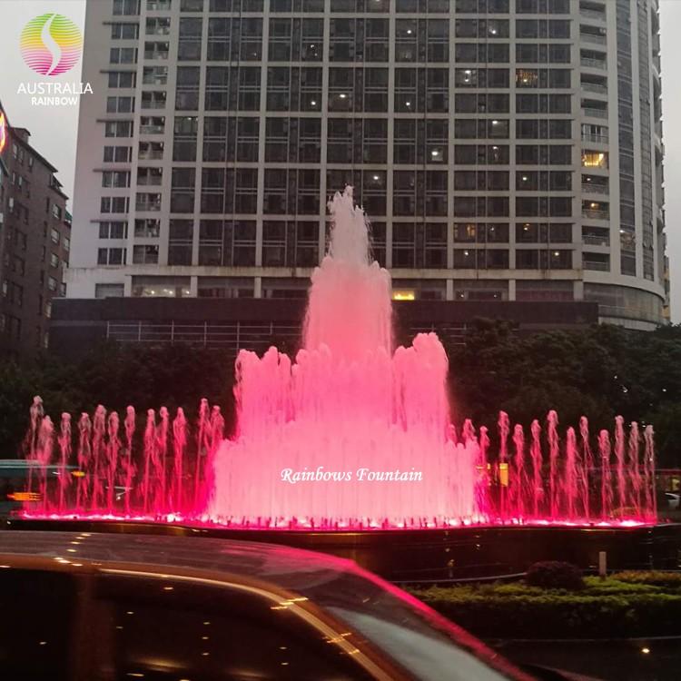 Отель Guangzhou Sofitel запрограммировал водопад фонтана с красочным светодиодом