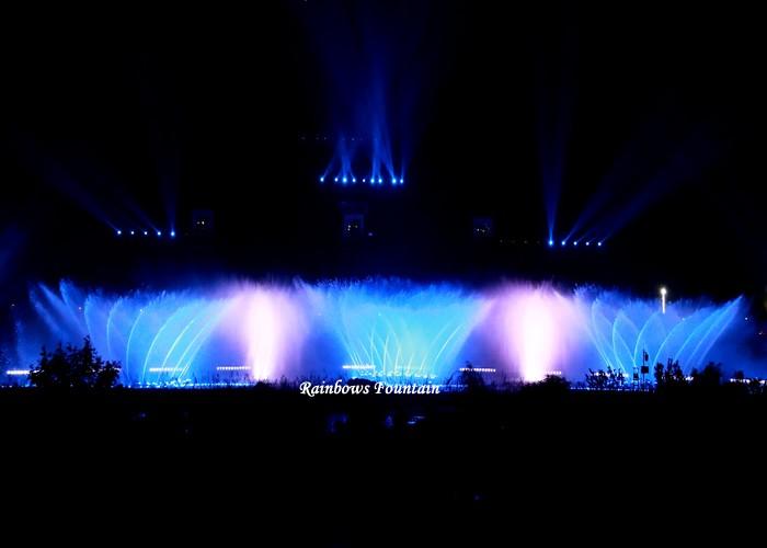 Проект шоу фонтанов для танцев на открытом воздухе Huangguoshu 110 м