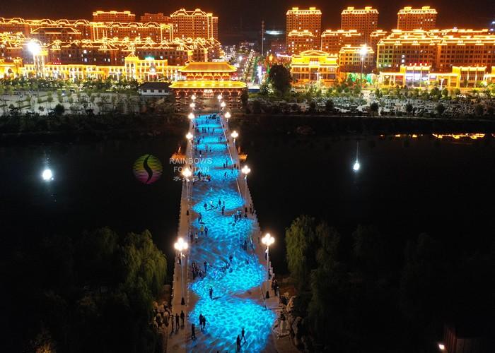 Iluminarea clădirii Park Bridge