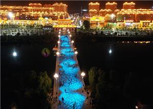 Oświetlenie budynku Park Bridge