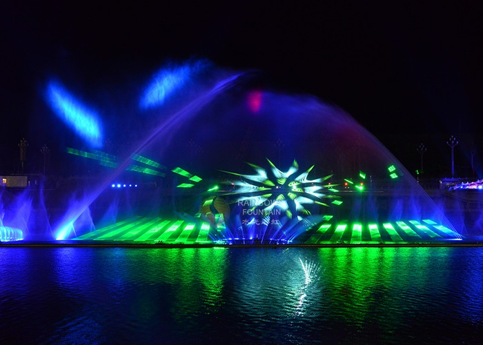 Outdoor Large Dancing Water Fire Fountain