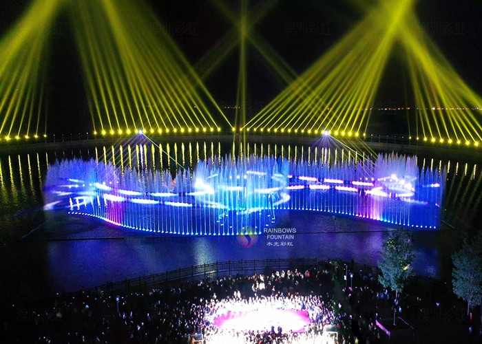 Outdoor Programmable Musical Laser Lighting Show for Park
