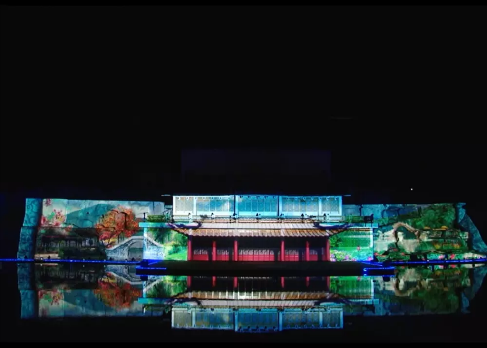 3D Video Mapping Show Project