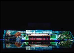 3 डी वीडियो मानचित्रण शो परियोजना