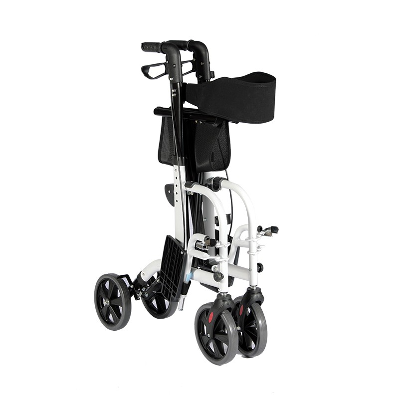 Foldable Footrest Rollator Manufacturers, Foldable Footrest Rollator Factory, Supply Foldable Footrest Rollator