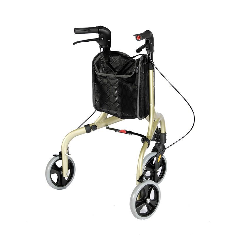 Ny modell 3-hjuls äldre rullator