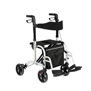 Transform Rollator To Transit Chair Mode