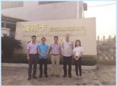 Customers visit to our factory