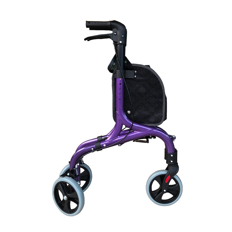 Lightweight Rollator With Luxury Shopping Bag Manufacturers, Lightweight Rollator With Luxury Shopping Bag Factory, Supply Lightweight Rollator With Luxury Shopping Bag
