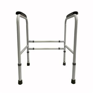 Multistage Adjustable Height Commode Toilet Frame