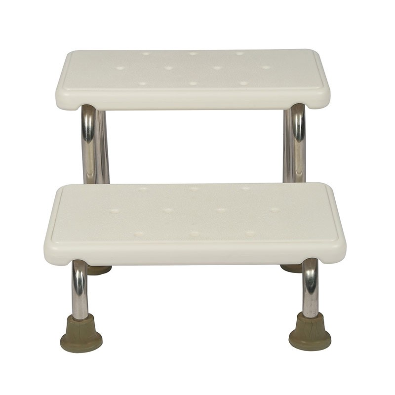 Hospital Footstool Bath Stool For Medical Use Foot Step Double