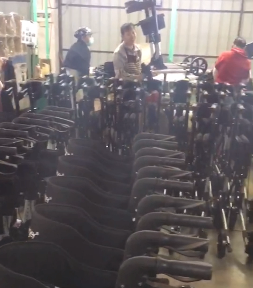 FOSHAN OSCAR rollator in mass production