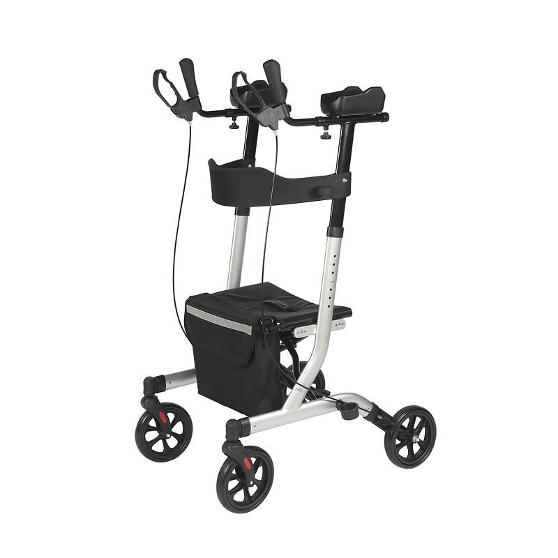 Neues Produkt Aluminium-Gehhilfen-Rollator-Hilfsgehgerät mit Armstütze