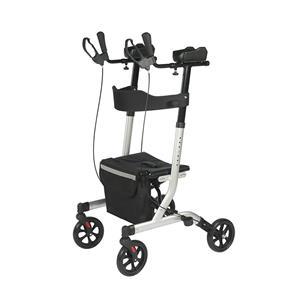 Ny produkt Aluminium Upprätt Walker Rollator Extra gångutrustning med armstöd