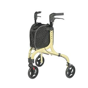 Lightweight Rollator With Luxury Shopping Bag