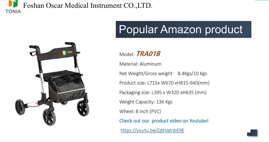 hosital folding walker