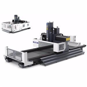 갠트리 CNC 기계 항공 산업 부품을 만들기위한