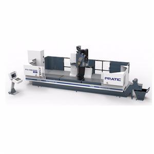 에어로 부품 제작을위한 4 축 CNC 머시닝 센터