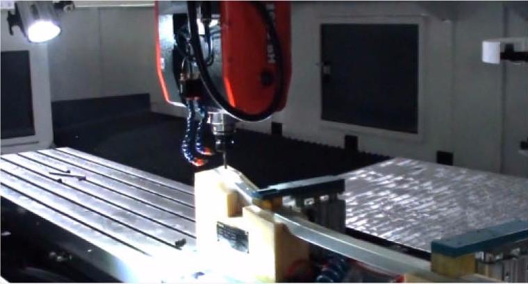 5 Axis Machining Center For Making Aluminum Doors