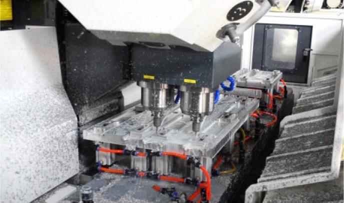 Cnc Metalworking Machine For Making Aluminum TV Frame