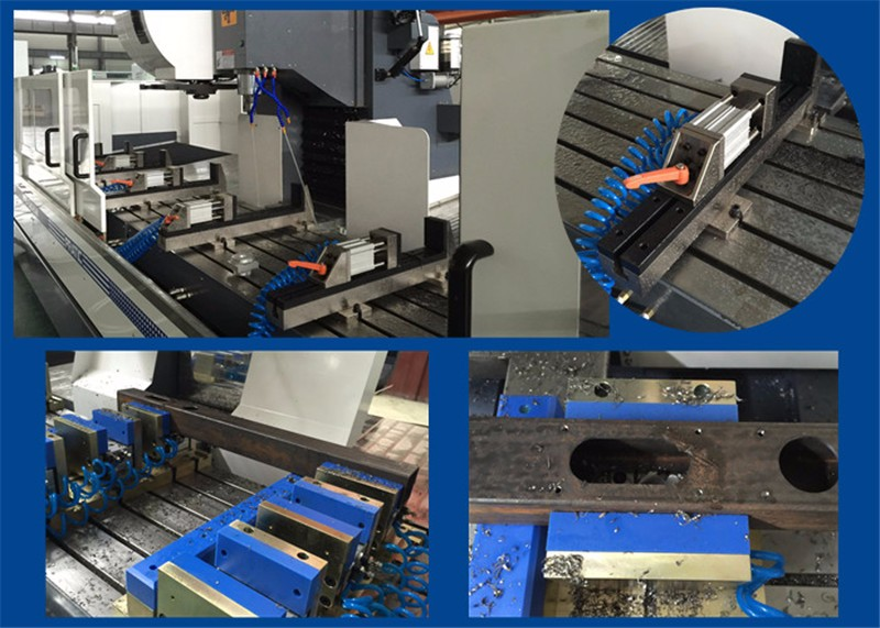 4 Axis Cnc Machining Center For Making Railway Parts