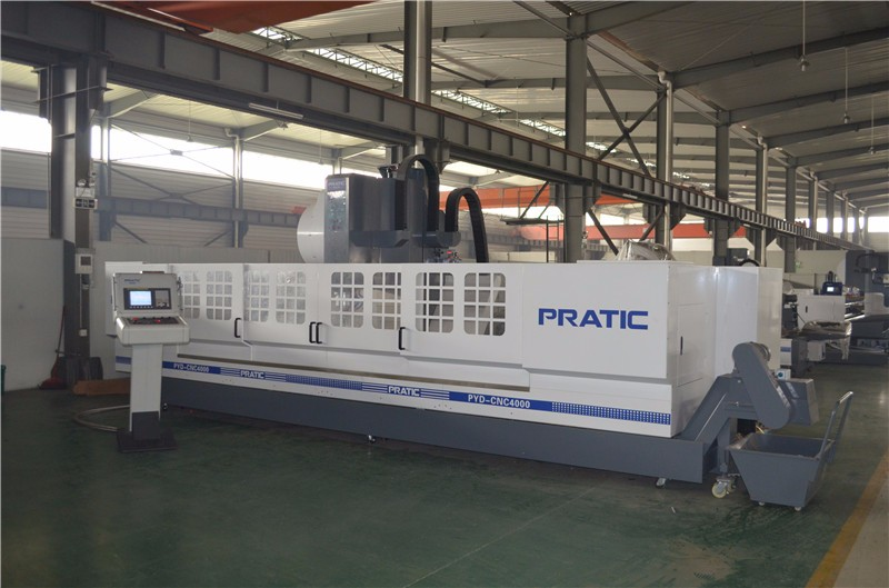 Cnc Machining Center For Train Parts Making