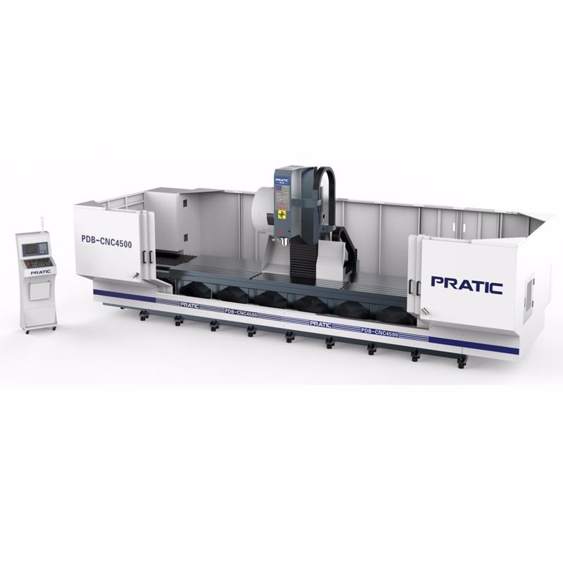 CNC-Präzisions Maschine zur Herstellung von Bahnteilen