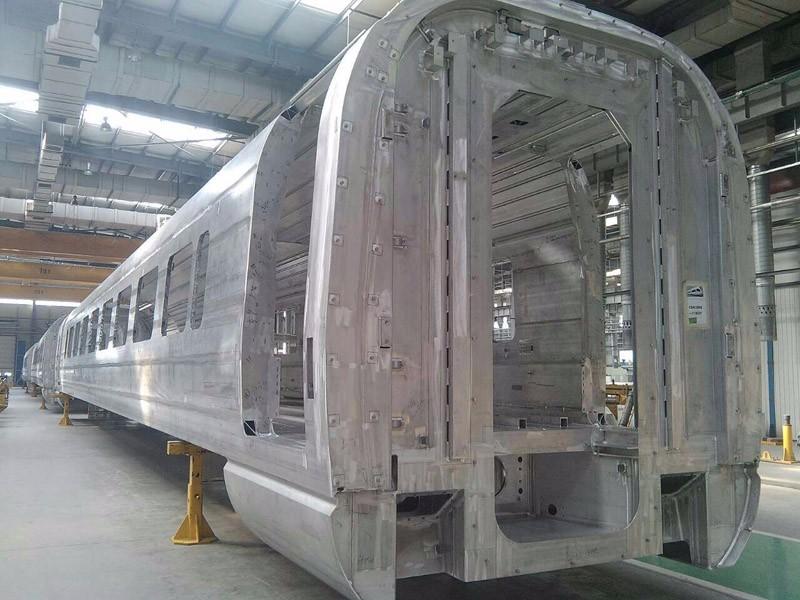 Gantry Machining Center For Train Parts Making