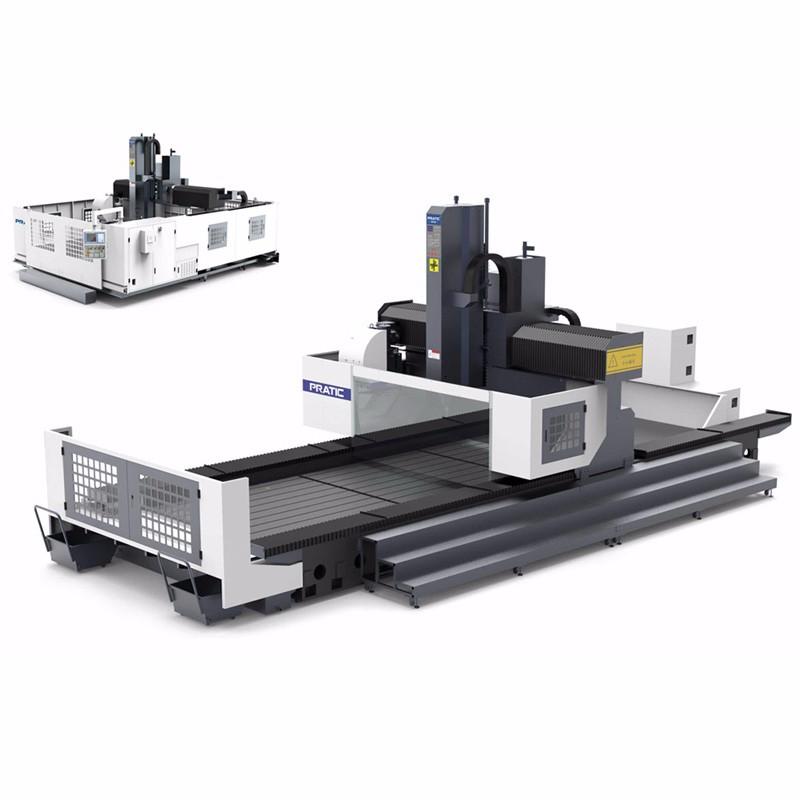 Gantry CNC-Maschine zur Herstellung von Eisenbahnmaterial