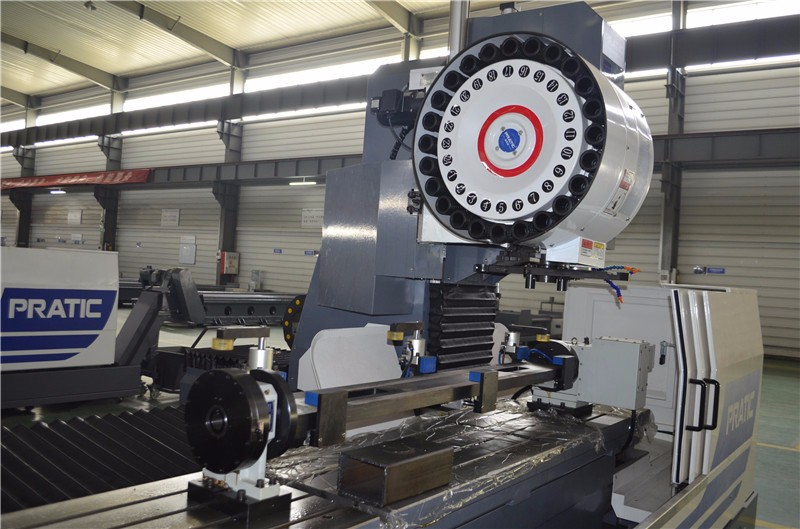 Horizontal Machining Center For Making Railway Parts