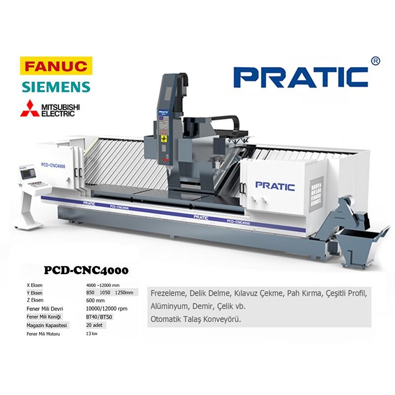 PCD Serisi / X4000-12000mm / Y800-1000-1200mm / BT40/BT50