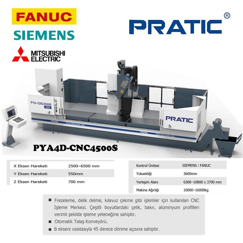 4 Eksen CNC İşleme Merkezi İçin Makine Parçaları yapma