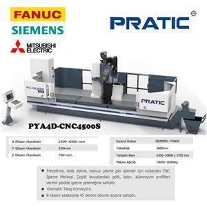 4 Eksen CNC İşleme Merkezi İçin Otomobil Parçaları Yapımı