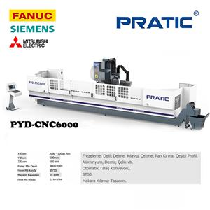 PYD-CNC makine parçaları işleme merkezi / BT50