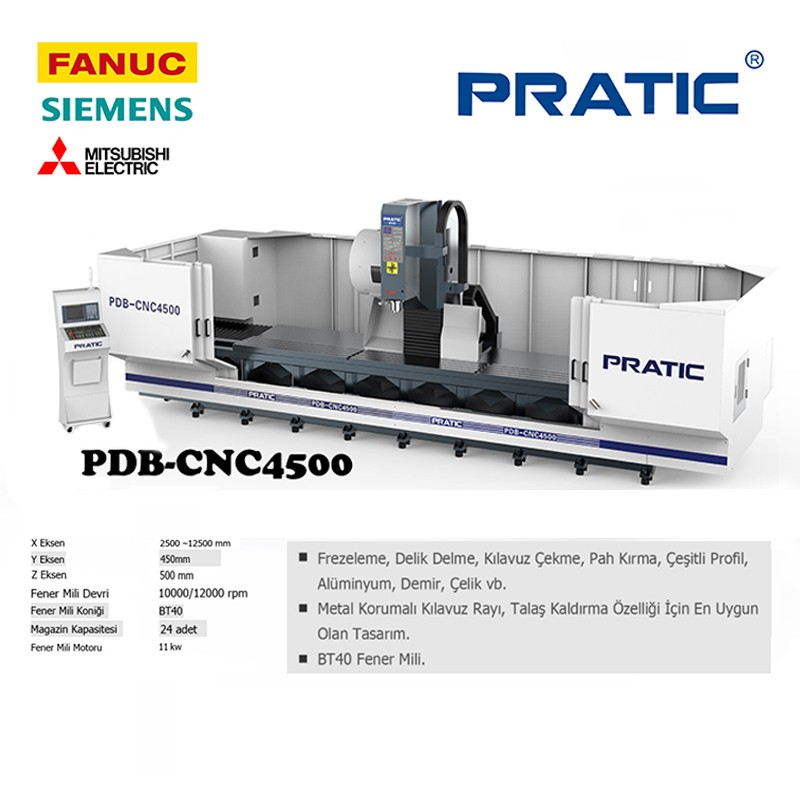PDB-CNC hassas parça üretim işleme merkezi