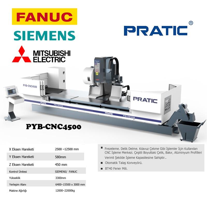 PYB-CNC hassas havacılık ekipmanları işleme makinesi