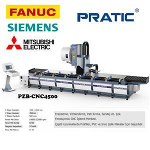 PZB-CNC Demiryolu parçalarının üretim makinesi