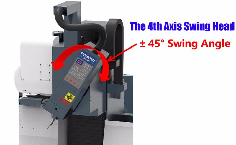 4 Axis CNC Machining Center - PRATIC PYA4D Series