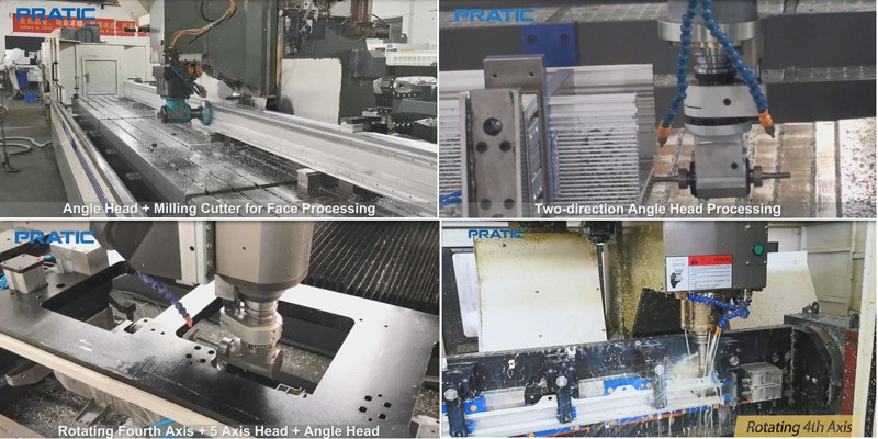 Work with PRATIC to Make Your Customized CNC Machining Center